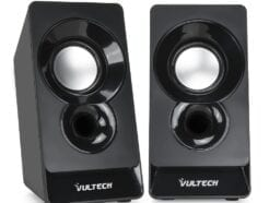 VULTECH CASSE ACUSTICHE 2.0 AUTOALIMENTATE USB 2.0 3W RMS NERE SP-320N