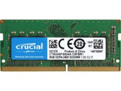 CRUCIAL RAM SO-DDR4 8GB 2400MHZ PC-19200 CT8G4SFS824A