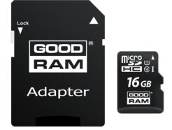 GOOD RAM MICRO SD 16GB UHS-I CL10 M1AA-0160R11