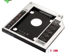 EWENT CADDY HDD/SSD SATA III PER DRIVE CD/DVD 9