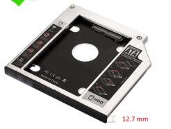EWENT CADDY HDD/SSD SATA III PER DRIVE CD/DVD 12