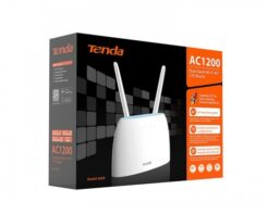 TENDA ROUTER WIRLESS 4G LTE AC1200 DUAL-BAND WIFI 4G09