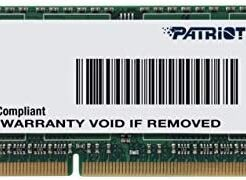 PATRIOT RAM SO-DDR3L 8GB PC3-12800 1600MHZ PSD38G1600L2S