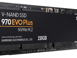 SAMSUNG SOLID STATE DRIVE SSD EVO 970 PLUS 250GB M.2 NVMe MZ-V7S250BW