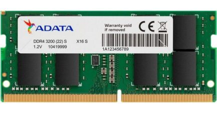 ADATA RAM SO-DDR4 8GB 3200MHZ PC4-25600 AD4S320088G22-SGN