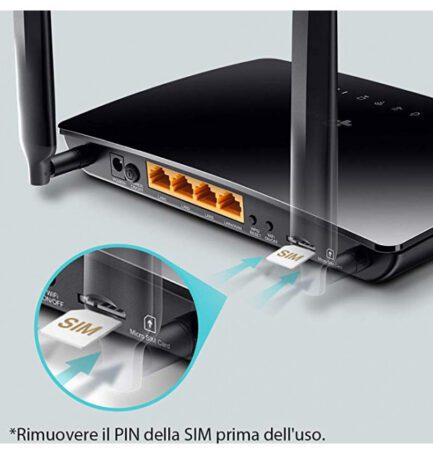 TP-LINK ROUTER WIRLESS 4G LTE 300MBPS TL-MR6400