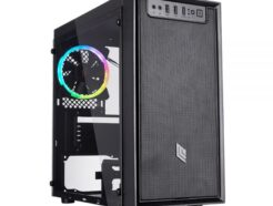 NOUA CASE MINI-TOWER FOBIA L4 USB 3.0 FAN RGB NO ALIM. CS0918PW-L4K917