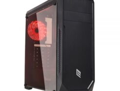 NOUA CASE MID-TOWER NOOB X5 USB 3.0 FAN RED NO ALIM. CS1118CZ-X5K512