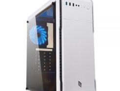 NOUA CASE MID-TOWER NOOB X13 WHITE USB 3.0 FAN TRIPLO HALO RGB CS1118CZ-X3W511