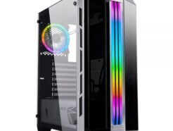 NOUA CASE MID-TOWER DIAMOND C6 BLACK  USB 3.0 FAN RGB NO ALIM. CS0719XT-C6S485