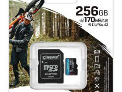 KINGSTON MICRO SD 256GB CL10 CANVAS GO PLUS SDCG3/256GB