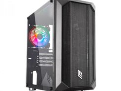 NOUA CASE MINI-TOWER FOBIA L2 BLACK USB 3.0 FAN HALO RGB NO ALIM. CS0918JP-L2K917
