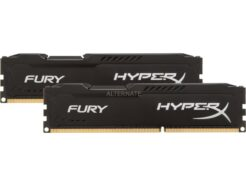 KINGSTON KIT RAM DDR4 HYPERX FURY BLACK 16GB (2*8GB) 3600MHZ PC4-28800 HX436C17FB3K2/16