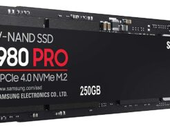 SAMSUNG SOLID STATE DRIVE SSD 250GB EVO 980 PRO M.2 PCIe 4.0 NVMe MZ-V8P250BW