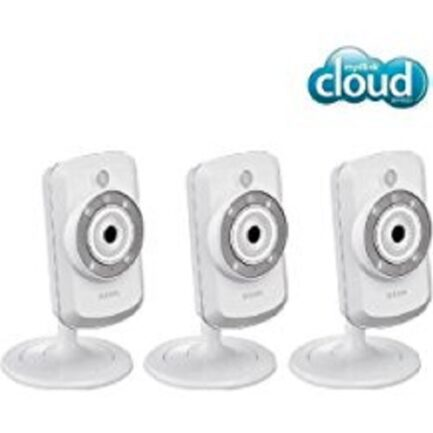 D-Link Set Di 3 Telecamere Ip Wifi-N Mydlink Dcs-942L - Giorno/Notte
