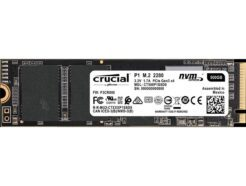 CRUCIAL SOLID STATE DRIVE SSD P1 500GB PCIe M.2 NVMe CT500P1SSD8