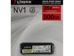 KINGSTON SOLID STATE DRIVE SSD 250GB M.2 NVME SNVS/500G